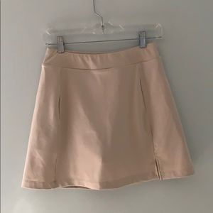 Lady Hagen Tan Golf Skort